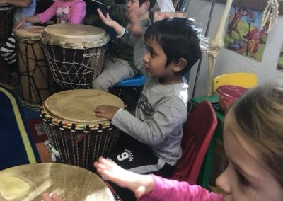 preschool drumming